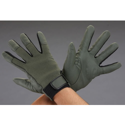 [OD Green] Leather Gloves (Artificial Leather) EA353JB-8