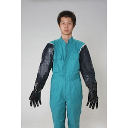 Neoprene Gloves [Nitrile Sleeve] EA354BM-6