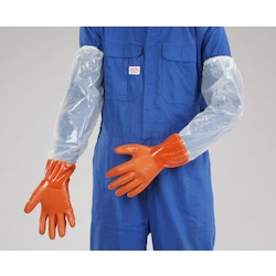 PVC Gloves with Arm Cover EA354GH-16