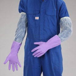 Thick PVC Gloves with Arm Cover EA354GH-2