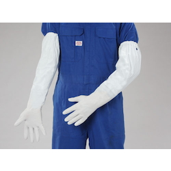 Thin PVC Gloves with Arm Cover EA354GH-6