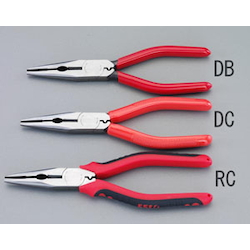 Long nose Pliers [with Crimping] EA537DC-175