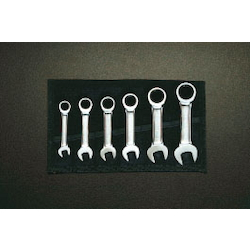 Stubby Gear Wrench Set EA614LS
