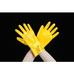 Insulated Urethane Gloves for Low Voltage (300VAC) EA640ZD-18