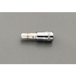 "1/4""sqx6mm Hex Bit Socket EA687AM-106"