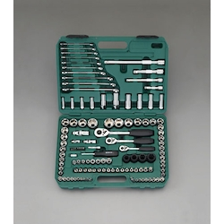 "(1/4"", 3/8"", 1/2"")Socket Wrench Set EA687DB"