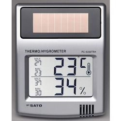 [Solar Battery] Max, Min Temperature and Humidity Meter EA728C-1