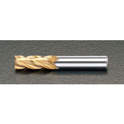 [TiN Coat] Co-HSS 4-Blade End Mill EA824RB-6.0
