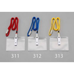 Nameplate for ID Card with Strap and Whistle EA956VA-312