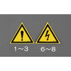 Safety Sign Sticker EA983CC-8