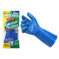 Model Gloves, Nitrile, Model Long with Jersey Lining