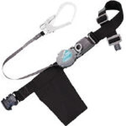 Retractable Type Safety Belt 2-Way Retractable with One Touch Buckle