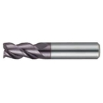 High Helix Square End Mill Stub 3-Flute 3686