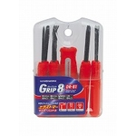 Grip 8 Screwdriver Set, 8-Piece Set