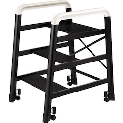 Aluminum Assembly Type Stepping Stool, Camber