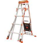 Extending Multi-Function Ladder, Select Step