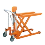 Superlow Floor Foot-Operated Lift Truck (Fork Type) Dandy Series