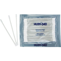 Industrial Cotton Swabs Pointed Cylinder Type 2.0 mm/Paper Shaft 1 Box 100 Count