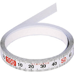 Setting Measuring Tape (With Adhesive Tape)