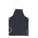 Apron with Denim Chest Rope - Working Apron