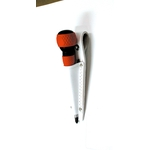 White Leather Screwdriver Holder (Double Seam)