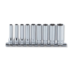 "Hand Socket 1/4"" ""(6.35 mm) Hex Deep Socket Rail Set RS2300A/9"