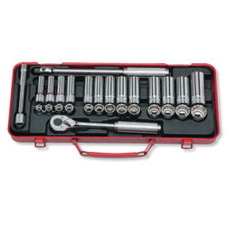 "Hand Socket 3/8"" ""(9.5 mm) Socket Set 3277"