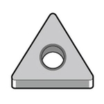 "60° Triangle Negative with Hole TNMG1604○○AH ""Medium to Rough"" Aluminum Nonferrous"