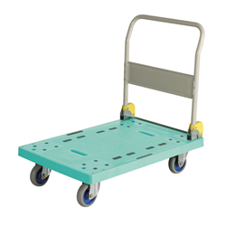 Large Resin Dolly, 2 Fixed Handle Type