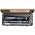 Socket Wrench Set (12-Sided Type) 1218A