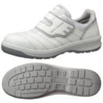 Hook & Loop Fastener Safety Shoes G3595 (White)