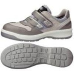 Hook & Loop Fastener Safety Shoes G3695 (Gray)
