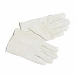 White Leather Gloves MT-14D