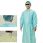 Disposable Protective Clothing Isolation Gown (Strap) Blue Free 50 Pieces/Box