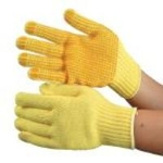 Gloves used during disasters and made from Kevlar Fiber KB-100 V, Anti-Slip