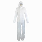 Non-Woven Fabric Jumpsuit FT-950 White