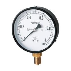 General Vertical Type Pressure Gauge Without Flange (A Type)