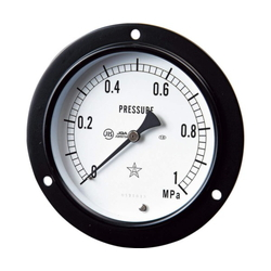 General-Purpose Embedded Type Pressure Gauge, Front Flange (FDU Type)