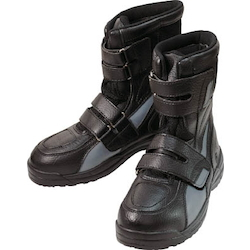 Safety boots high cut safety (velcro) black