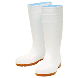 Marugo Safety Boots #870 White 24.0 cm