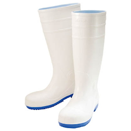 Marugo Safety Boots #910 White 25.0 cm