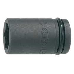 Impact Wrench Socket (Semi-Long, For Car Tires) Hex mm P4SL-□