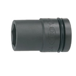 Impact Wrench Socket (Semi-Long For Car Tires, Thin Type) Hex mm P6SL-□