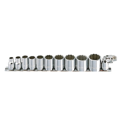 Socket Wrench Set (Standard Type) mm 10 pcs. 12 pc. set RS3□M