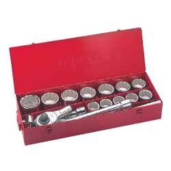 Socket Wrench Set (Standard Type) Inch 12 pcs. 18 pc. set S8□