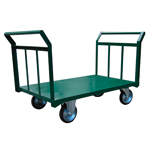 Large Steel Transport Dolly, Dual-handles