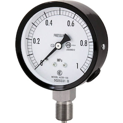 Stainless Steel Pressure Gauge (A Frame Vertical Type / ø75)