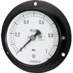 Ordinary pressure gauge (D frame embedded type, ø75)