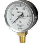 JIS General Purpose Pressure Gauge (A Frame Vertical Type / ø 60 / Tapered Thread)