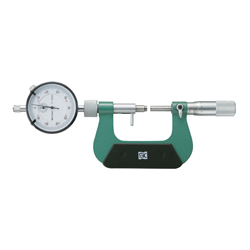 Micrometer with Dial Gauge